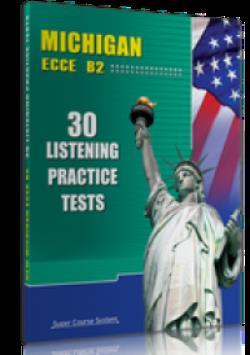 MICHIGAN ECCE B2 30 LISTENING PRACTICE TESTS SB