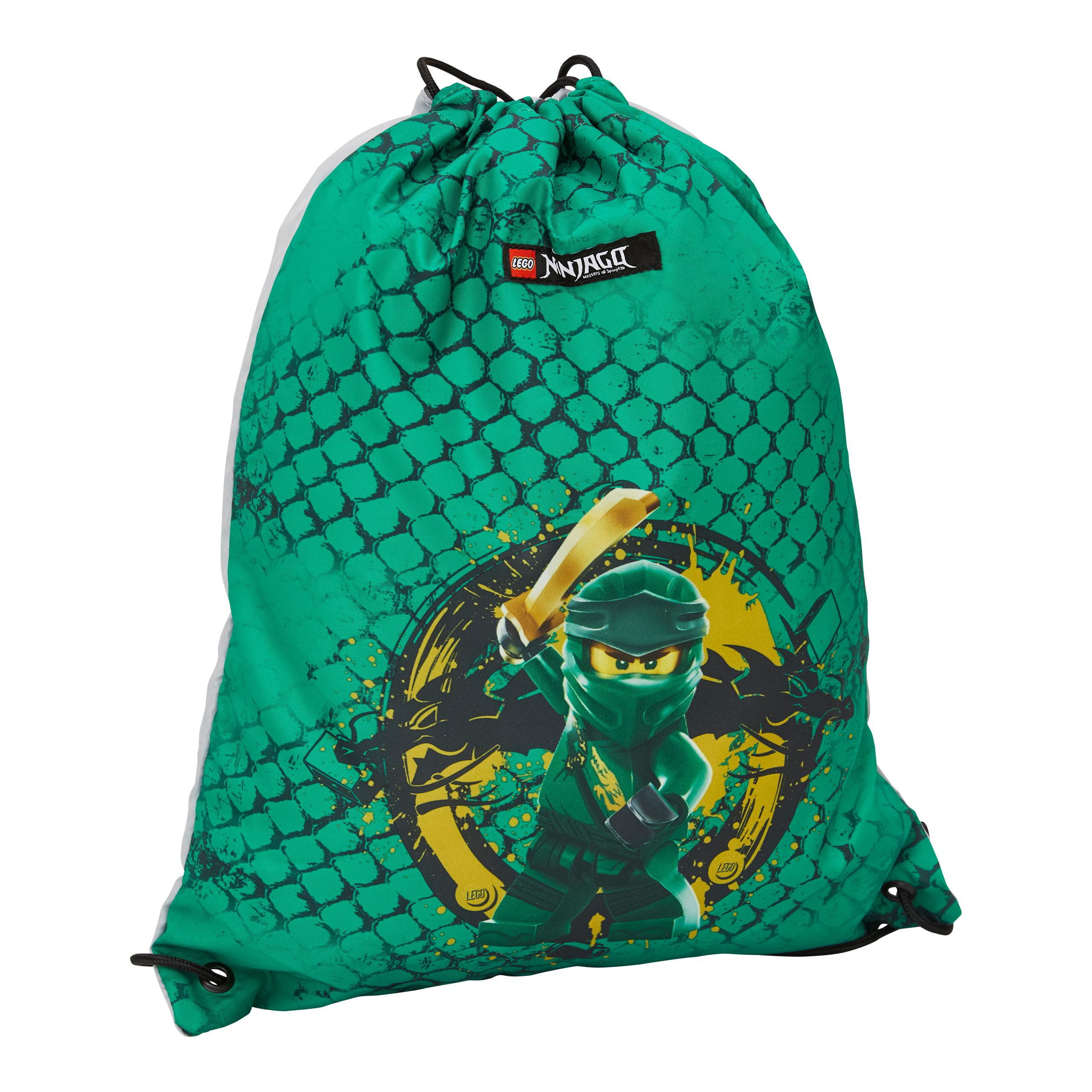 LEGO® BAGS ΣΑΚΙΔΙΟ ΜΕ ΚΟΡΔΟΝΙ: NINJAGO GREEN - 10034-2101
