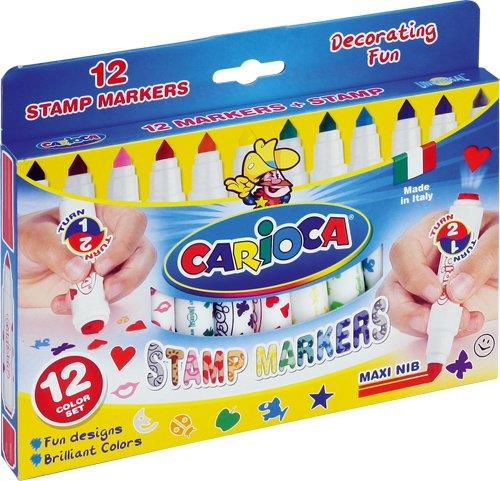 CARIOCA STAMP MARKERS (12TEM)
