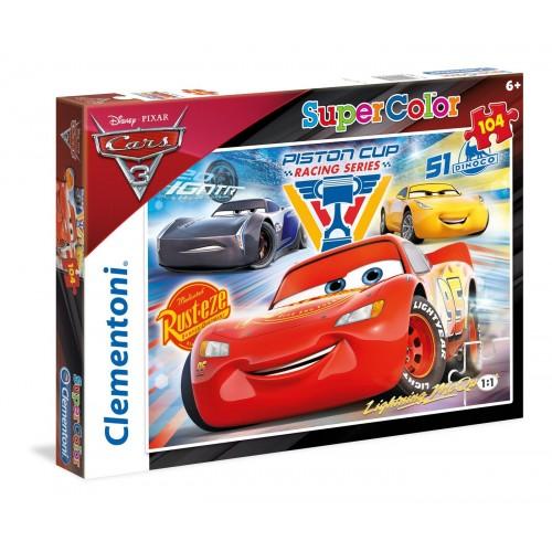 ΠΑΖΛ (PUZZLE) Clementoni104 S.C. Cars: Piston Cup Legends