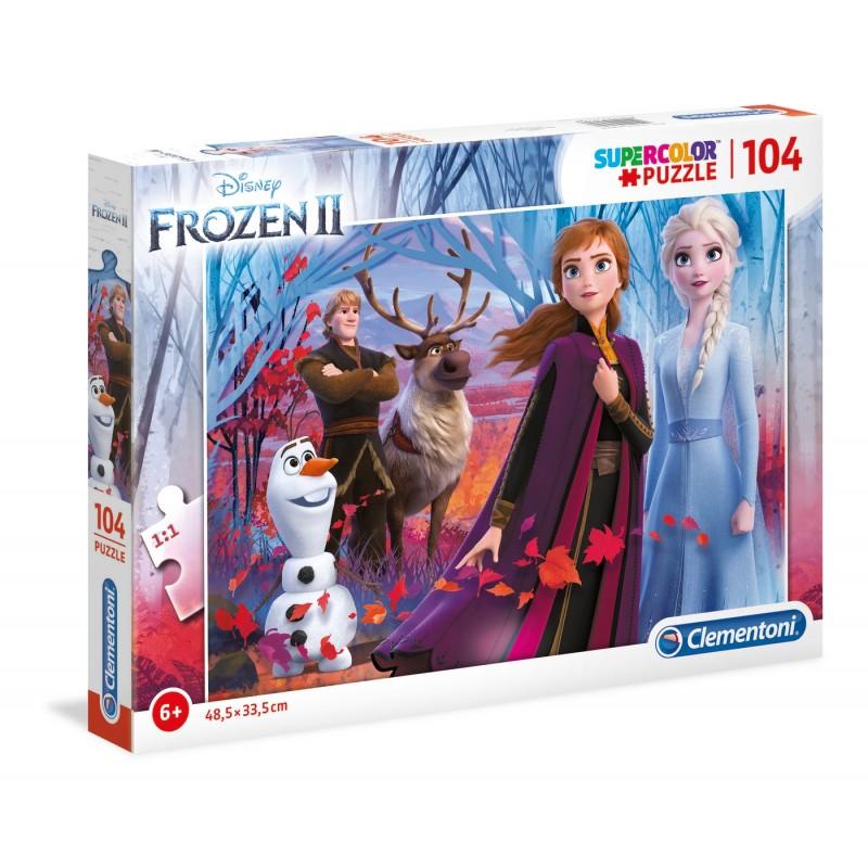 ΠΑΖΛ (PUZZLE) Clementoni 104 S.C. Frozen 2 (27274)