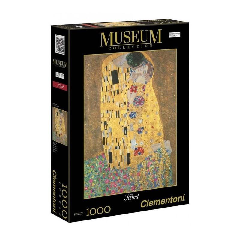 ΠΑΖΛ (PUZZLE) Clementoni 1000 MUSEUM KLIMT:ΤΟ ΦΙΛΙ