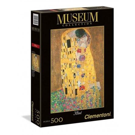 ΠΑΖΛ (PUZZLE) Clementoni 500 MUSEUM H.Q. ΚΛΙΜΤ - ΤΟ ΦΙΛΙ