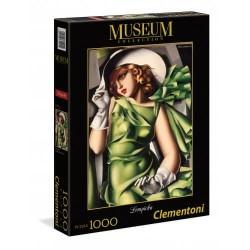 ΠΑΖΛ 1000 MUSEUM TAMARA DE LEMPICKA: ΝΕΑΡΗ ΓΥΝΑΙΚΑ ΜΕ ΓΑΝΤΙΑ