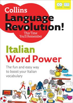 COLLINS LANGUAGE REVOLUTION : WORD POWER ITALIAN A1 + A2