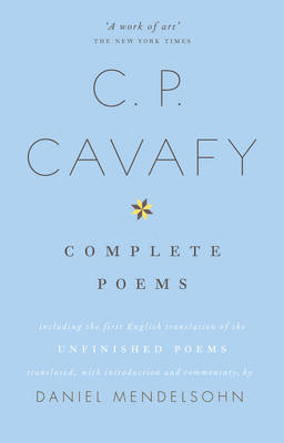 THE COMPLETE POEMS OF CAVAFY (PB B FORMAT)