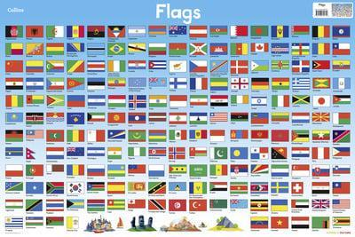 Flags (Collins Children's Poster)