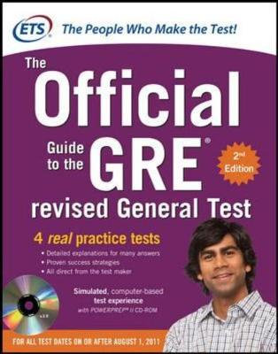 GRE: THE OFFICIAL GUIDE TO THE REVISED GENERAL TEST WITH CD-ROM PB
