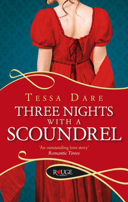 THREE NOTES WITH A SCOUNDREL : A ROUGE REGENCY ROMANCE  PB