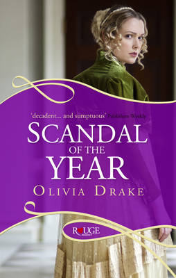 SCANDAL OF THE YEAR : A ROUGE REGNCY ROMANCE  PB