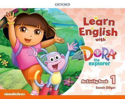 LEARN ENGLISH WITH DORA THE EXPLORER 1 WB