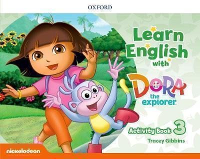 LEARN ENGLISH WITH DORA THE EXPLORER 3 WB