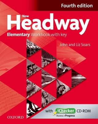 NEW HEADWAY ELEMENTARY WB WITH KEY (+ iCHECKER) 4TH ED