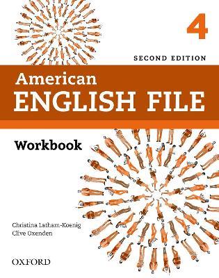 AMERICAN ENGLISH FILE 4 WB 2ND ED