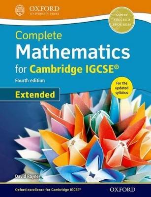 COMPLETE MATHEMATICS FOR CAMBRIDGE IGCSE (EXTENDED)
