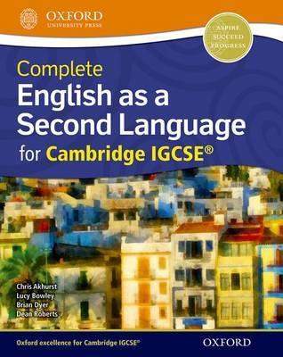 ENGLISH AS A SECOND LANGUAGE FOR CAMBRIDGE IGCSERG SB