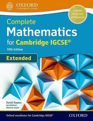 COMPLETE MATHEMATICS FOR CAMBRIDGE IGCSE IGCSE (EXTENDED) 5TH ED