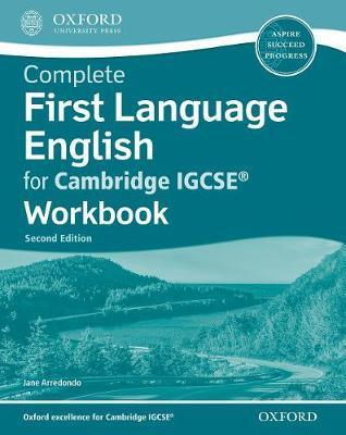 COMPLETE FIRST LANGUAGE ENGLISH FOR CAMBRIDGE IGCSE WB