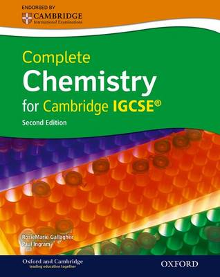 COMPLETE CHEMISTRY FOR CAMBRIDGE IGCSE 2ND ED PB