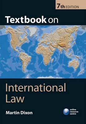 TEXTBOOK ON INTERNATIONAL LAW PB