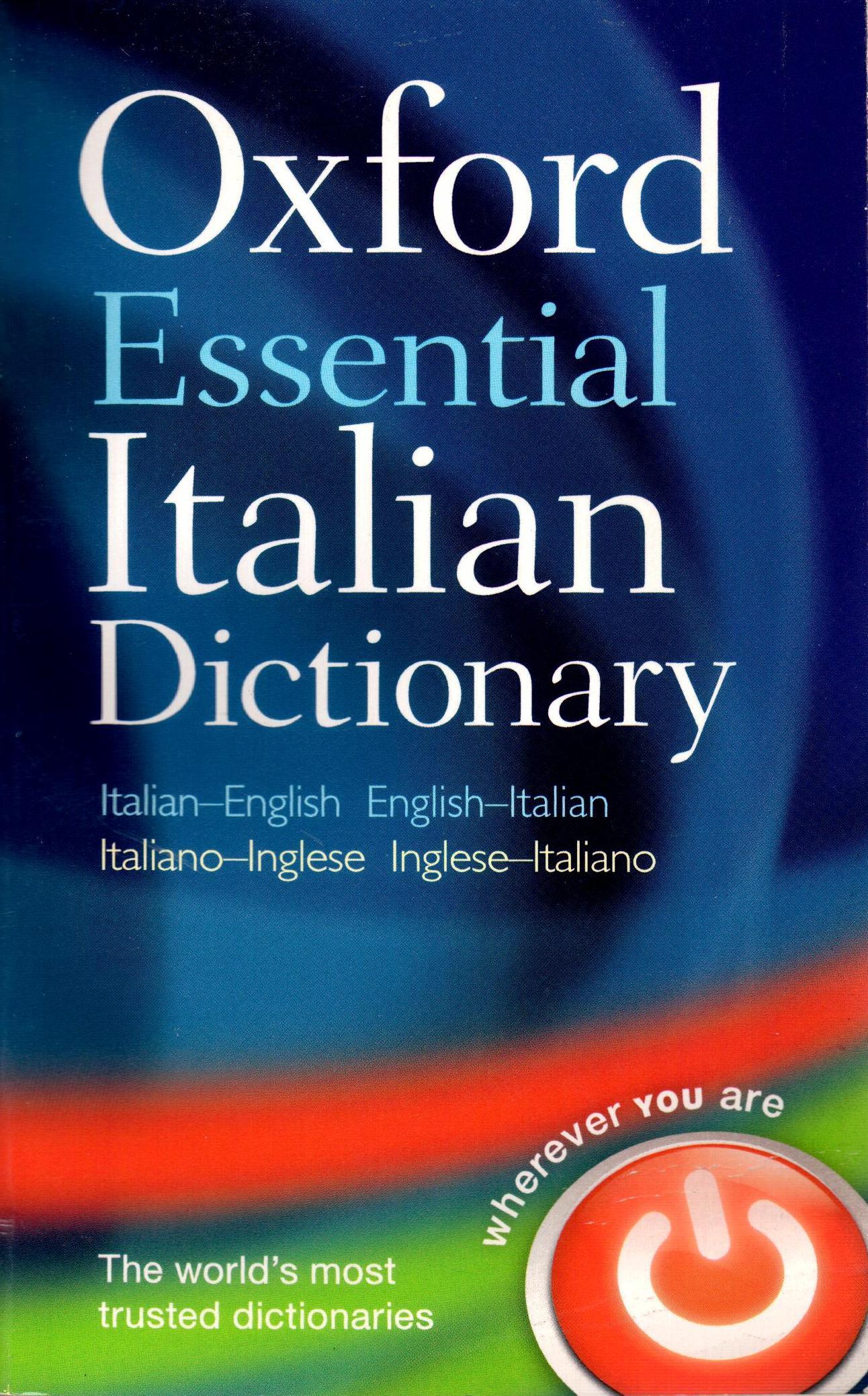 OXFORD ESSENTIAL DICTIONARY ITALIAN PB
