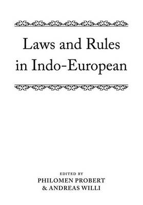 LAWS AND RULES IN INDO-EUROPEAN  PB