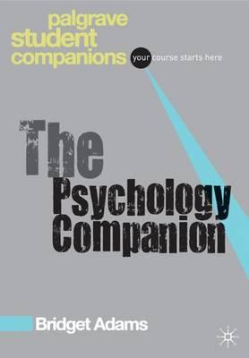 THE PSYCHOLOGY COMPANION  PB