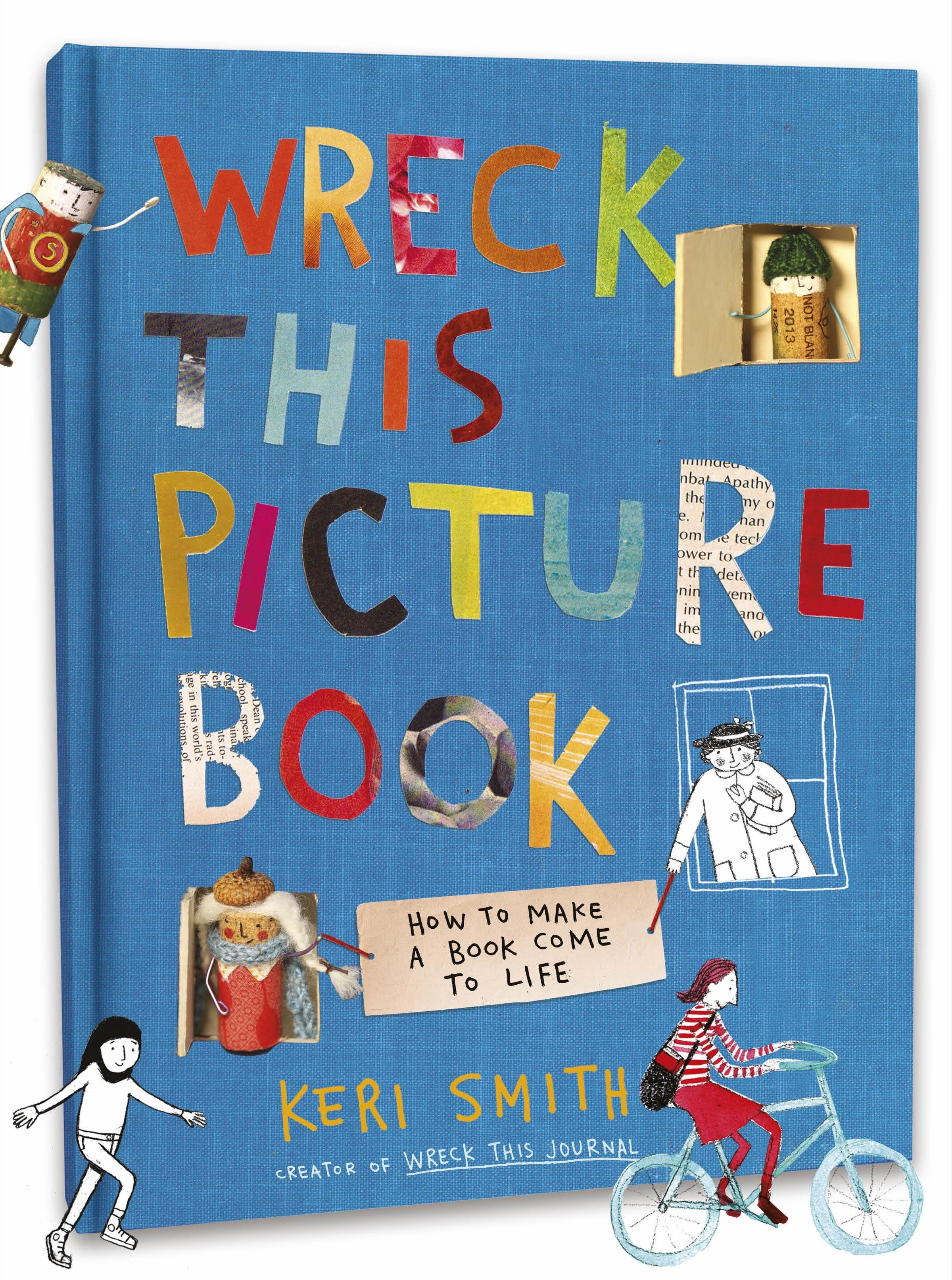 WRECK THIS PICTURE BOOK PB