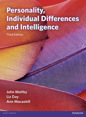 PERSONALITY, INDIVIDUAL DEFFERENCES AND INTELLIGENCE  PB