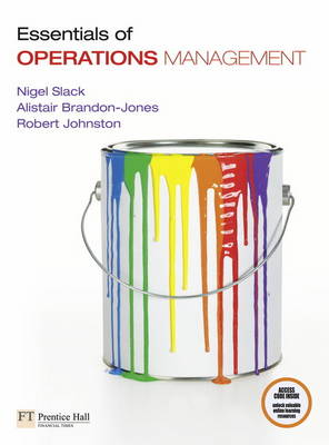 ESSENTIALS OF OPERATION MANAGEMENT
