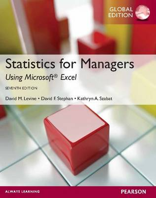 STATISTICS FOR MANAGER 7TH ED
