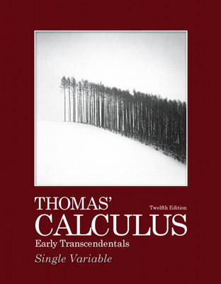 THOMAS CALCULUS: EARLY TRANSCENDENTALS