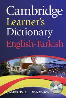 CAMBRIDGE LEARNERS DICTIONARY ( CD-ROM) ENGLISH-TURKISH PB