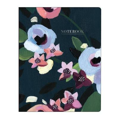 PAINTED PETALS DELUXE SPIRAL NOTEBOOK  PB