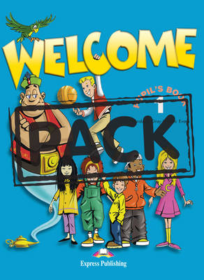 WELCOME 1 SB PACK (+ ALPHABET + DVD)