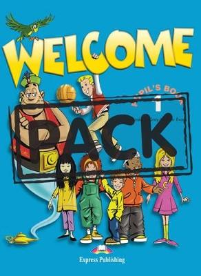 WELCOME 1 SB PACK (+ ALPHABET + DVD)