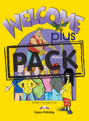 WELCOME PLUS 1 SB PACK (+ ALPHABET + DVD)