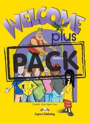 WELCOME PLUS 1 SB PACK (+ ALPHABET + DVD)