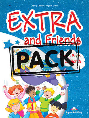 EXTRA & FRIENDS JUNIOR A SB (+ IEBOOK)