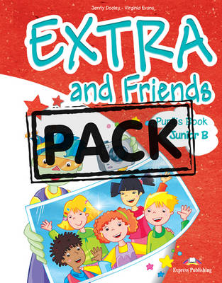EXTRA  FRIENDS JUNIOR B SB PACK ( IEBOOK)