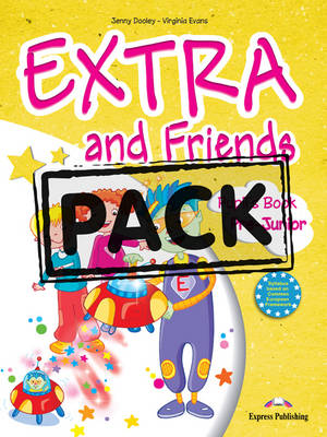 EXTRA & FRIENDS PRE-JUNIOR SB PACK (+ ALPHABET + CD + DVD) +IEBOOK