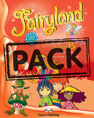 FAIRYLAND JUNIOR B SB PACK (+ BOOKLET + CD + DVD) +IEBOOK