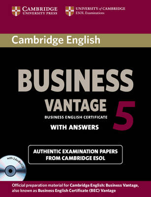 CAMBRIDGE ENGLISH BUSINESS VANTAGE 5 SELF STUDY PACK