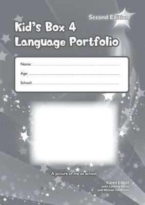 KIDS BOX 4 LANGUAGE PORTFOLIO UPDATED 2ND ED