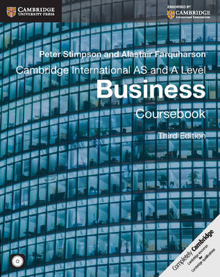 CAMBRIDGE INTERNATIONAL AS AND A LEVEL BUSINESS SB ( CD-ROM)
