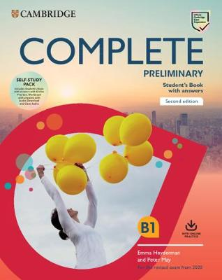 COMPLETE PET SB PACK WA (ONLINE PRACTICE  WB WA) (FOR THE REVISED EXAM FROM 2020)