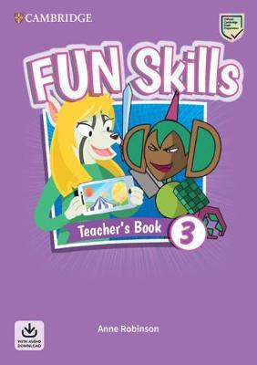 FUN SKILLS 3 TCHRS ( DOWNLOADABLE AUDIO)