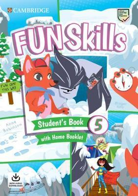 FUN SKILLS 5 SB ( HOME BOOKLET  AUDIO DOWNLOADS)