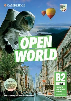 OPEN WORLD B2 FIRST SB PACK ( WB WITH AUDIO DOWNLOAD)