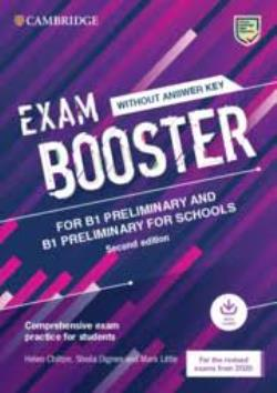 CAMBRIDGE ENGLISH EXAM BOOSTER PRELIMINARY FOR SCHOOLS (AUDIO) - FOR 2020 EXAMS